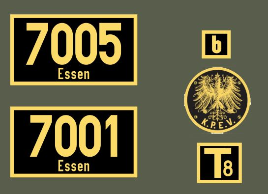 Kummerkasten  DHG500 (3078) T8er